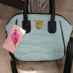 Betsey Johnson Quinn Quilted Mini Satchel